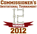 Winner of the 2012 Commissioner's Invitational Tournament